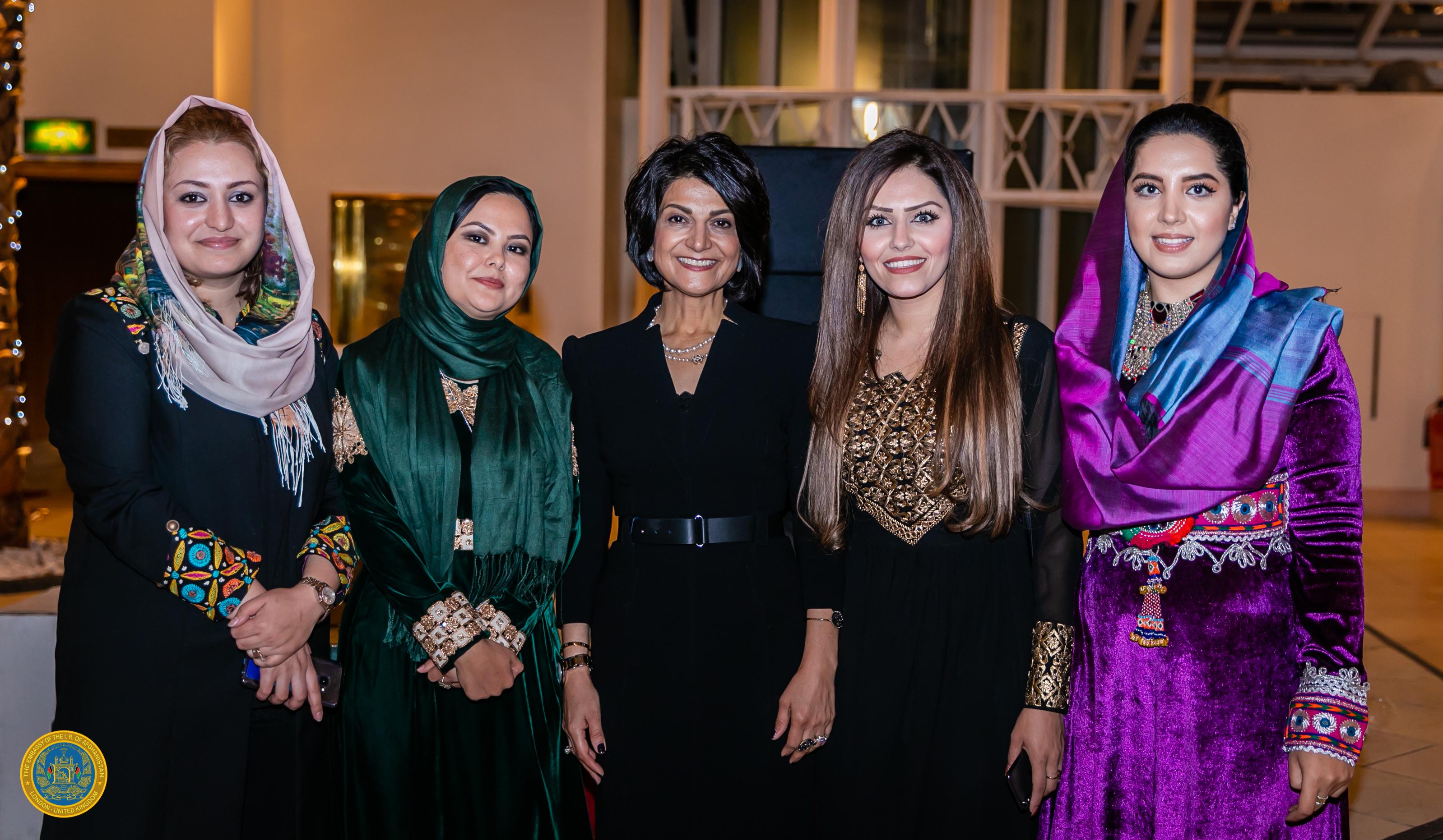 10 - Shamim Jawad w_ female Embassy staff