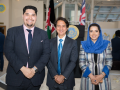 H.E Ambassador Said T. Jawad and Executive Assistant Gazal Gailani with conference participant