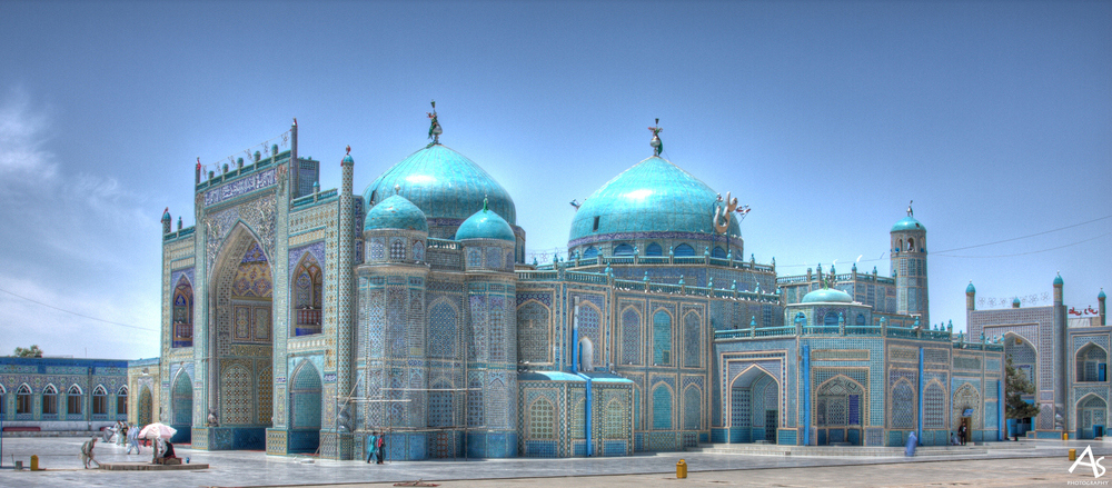 Mazar-e-Sharif-Blue-Mosque