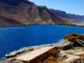 Located SW of the Hindu Kush range, the Band-e-Amir lakes and other continental bioherms around Bamiyan are famous for their ordering into terraces and their great variety of colours.
