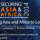 Embassy's diplomats have attended Securing Asia and Africa 2014 Conference