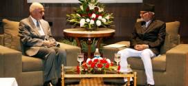 President Ghani Meets Nepalese Prime Minister