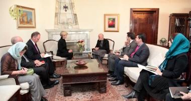 President Ghani Meets Australian Foreign Minister