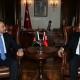 Foreign Minister Salahuddin Rabbani Meets his Turkish Counterpart Mevlüt Çavuşoğlu