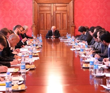 President Ghani Chairs Meetings to Review the status of infrastructure and human resources sectors