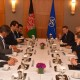 Minister of Foreign Affairs Meets Secretary General of NATO