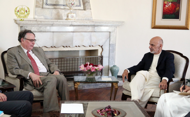 President Ghani: Terrorists Bound by No Rules or Principles