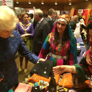 The Embassy of Afghanistan in London took part in CFAB's 56th International Spring Fair & Food Festival 2015