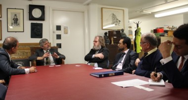 Afghan Diplomats Meet with British Museum Officials