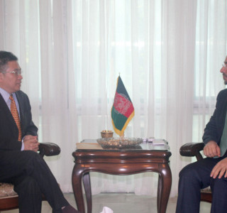 Foreign Minister Meets Chinese Ambassador to Kabul