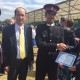 Charge'd' Affairs Siamak Herawi participated at graduation ceremony of an Afghan Cadet at Royal Military Academy Sandhurst.