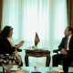 Minister of Foreign Affairs Meets British Ambassador