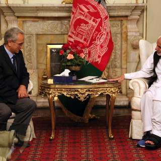 President Ghani Accepts Diplomatic Credentials of the New Turkish Ambassador