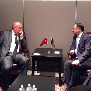 Bilateral Meeting between Afghan and Turkish Foreign Ministers