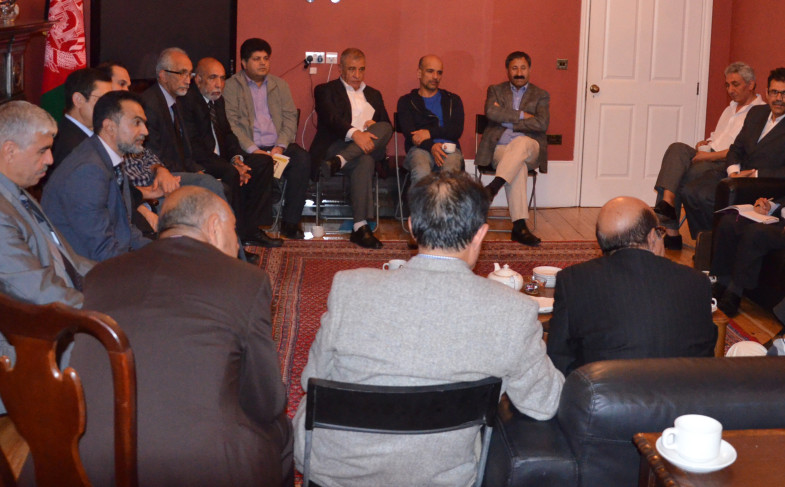 A Literary and Criticism event was held at the Embassy of Afghanistan in London