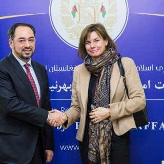 Minister of Foreign Affairs Meets Swedish Minister for International Development Cooperation