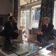 Foreign Minister Visits French Embassy in Kabul, in the Wake of Terrorist Attacks Yesterday Evening in Paris