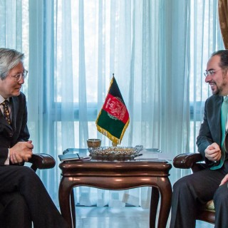 Minister of Foreign Affairs Meets Deputy Special Representative of the UN Secretary-General for Afghanistan