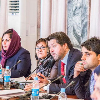 First Meeting of the Afghan National Action Plan United Nations Resolution 1325 on Women, Peace, and Security Implementation Stage