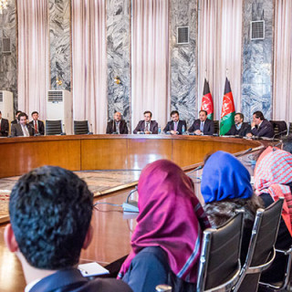 Celebrating the 12th Anniversary of the Constitution of the Islamic Republic of Afghanistan in the Ministry of Foreign Affairs