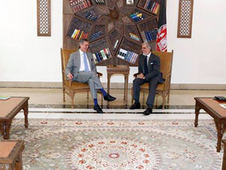The Chief Executive: The Afghan government is committed to bring electoral reform and fight against corruption